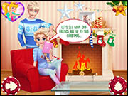 A Magic Christmas With Elsa and Jack