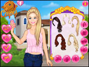Barbie College Selfie
