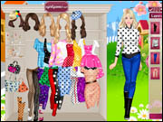 Barbie's Dotted Dresses