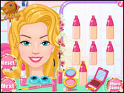Barbies Festival Makeup
