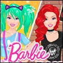 Barbie Kawaii vs Rock Style